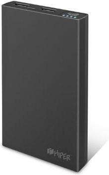 Купить Универсальный внешний аккумулятор HIPER PowerBank RP15000 15000 mAh Black, Черный