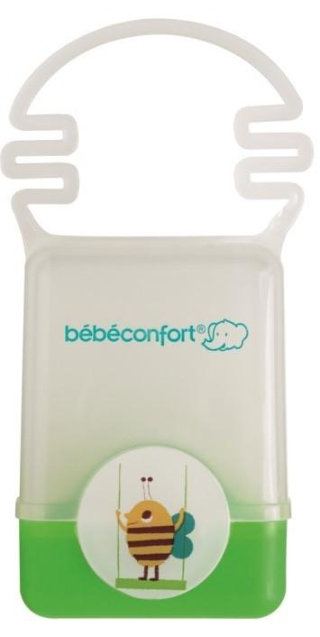 Купить BEBE CONFORT Пластиковый контейнер для хранения пустышки Bebe Confort, с ручкой, цвет: зеленый, [30001169], пластик, Бутылочки и ниблеры для малышей