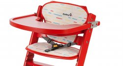 Мягкий вкладыш Safety 1st Timba Comfort Cushion цвет Red Lines
