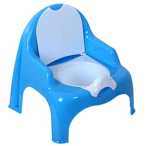 Купить DUNYA PLASTIK Горшок-стульчик детский [11102], Голубой, Турция, Горшки и детские сиденья на унитаз