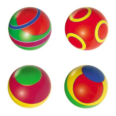 Купить МЯЧИ-ЧЕБОКСАРЫ Мяч д. 200мм полоса лак [с-102ЛП], Детские мячи и прыгуны