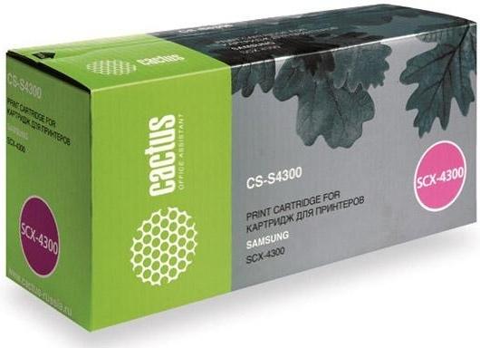 Купить Тонер-картридж Cactus CS-S4300 Black, Black (Черный), Китай