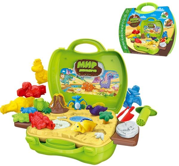 Купить Игровой набор врача Zhorya Мир Динозавров [Т10888], 1 toy, Для мальчиков и девочек, Играем в доктора