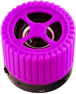 Портативная колонка Ginzzu GM-988V фиолетовый