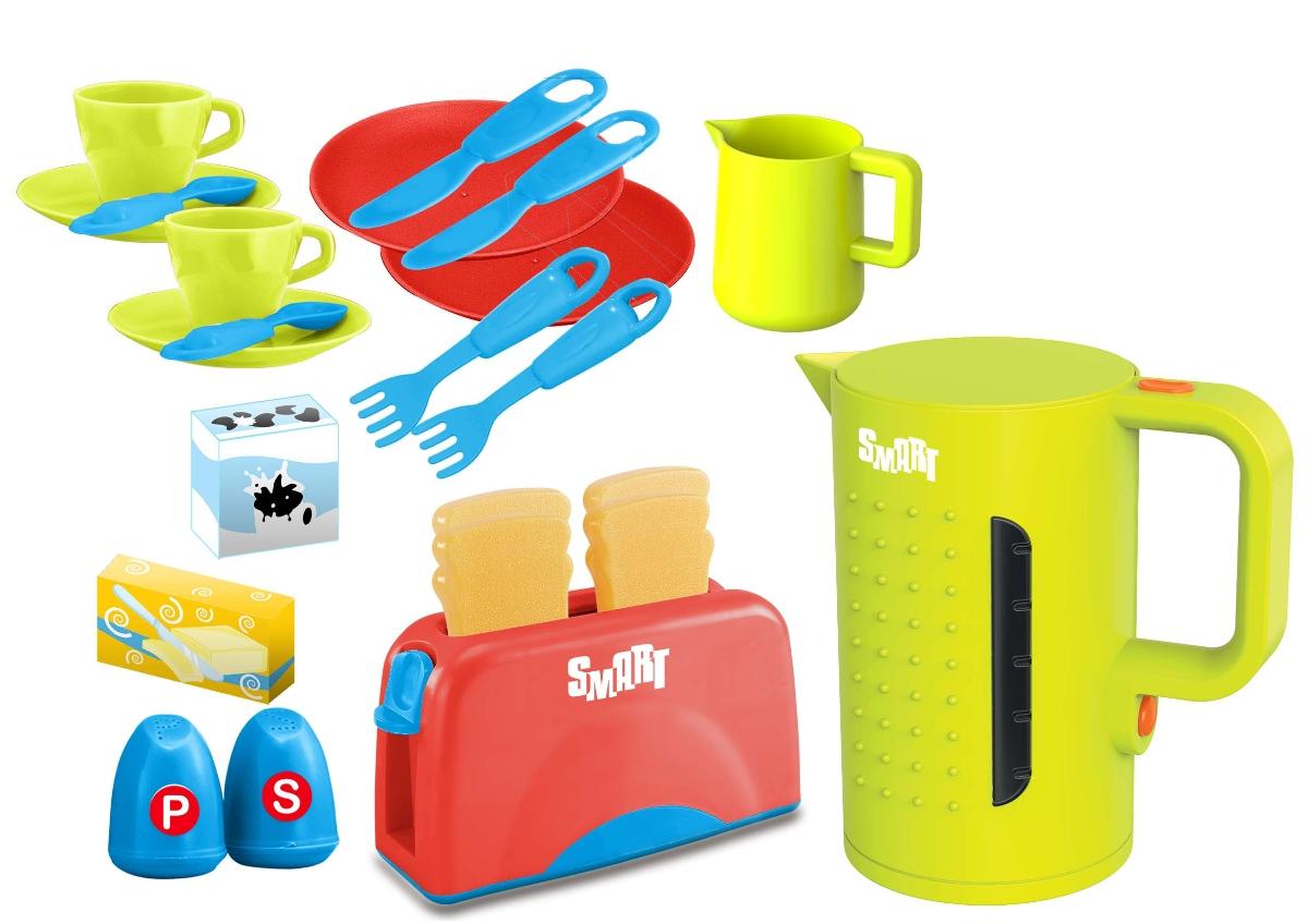 Купить Игровой набор SMART 1684124.00 для завтрака, пластик, Металл, Детские кухни и бытовая техника
