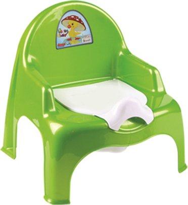 Купить 11102, DUNYA Детский горшок-кресло, Салатовый, Горшки и детские сиденья на унитаз