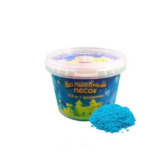 Купить КОСМИЧЕСКИЙ ПЕСОК Набор Волшебный песок Голубой 0, 5 и формочка [VP052], голубой, Кинетический песок