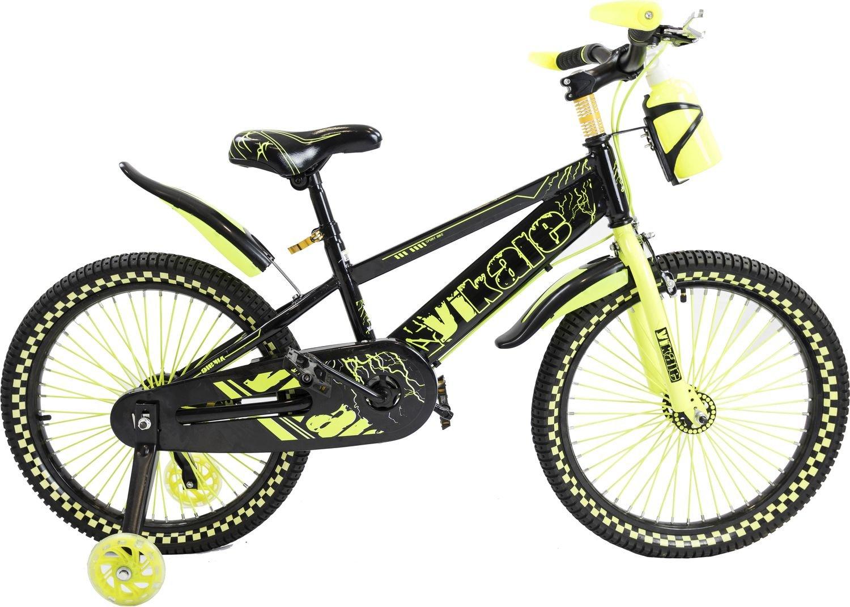 Двухколесный велосипед Vikale V-20 желтый