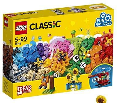 Купить LEGO Конструктор Classic Кубики и механизмы [10712], пластмасса, Конструкторы