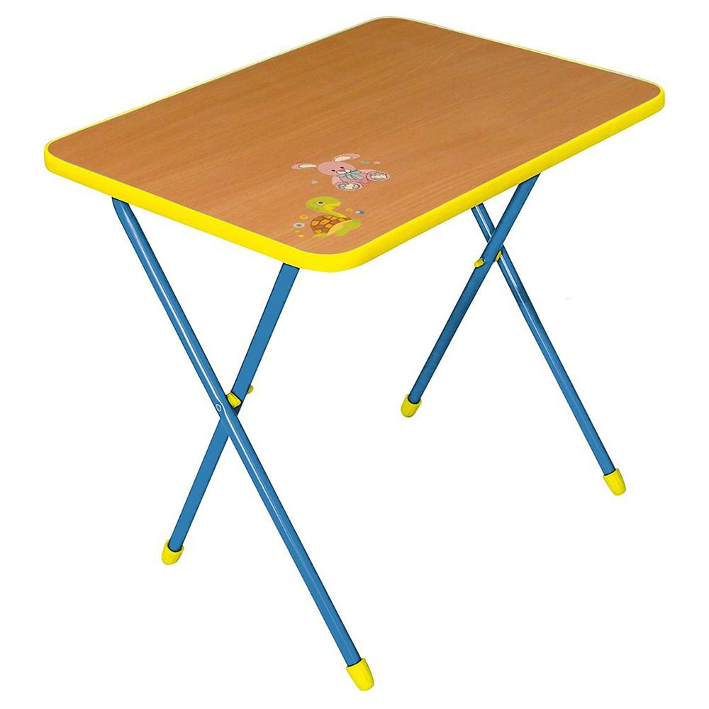 Купить СА1, НИКА Стол детский складной АЛИНА Бук, Nika kids, Россия, Парты и столы