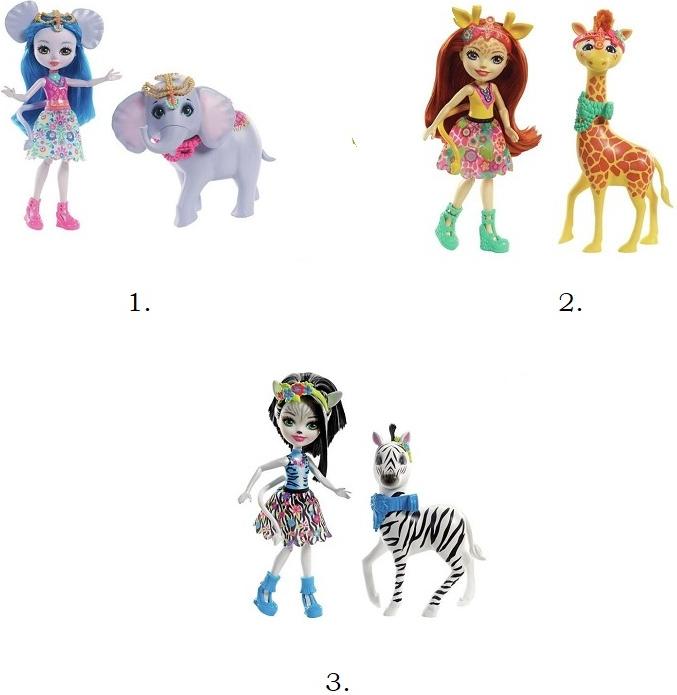 Купить Enchantimals Кукла с большой зверюшкой [FKY72], Mars, Для девочек, Куклы и пупсы