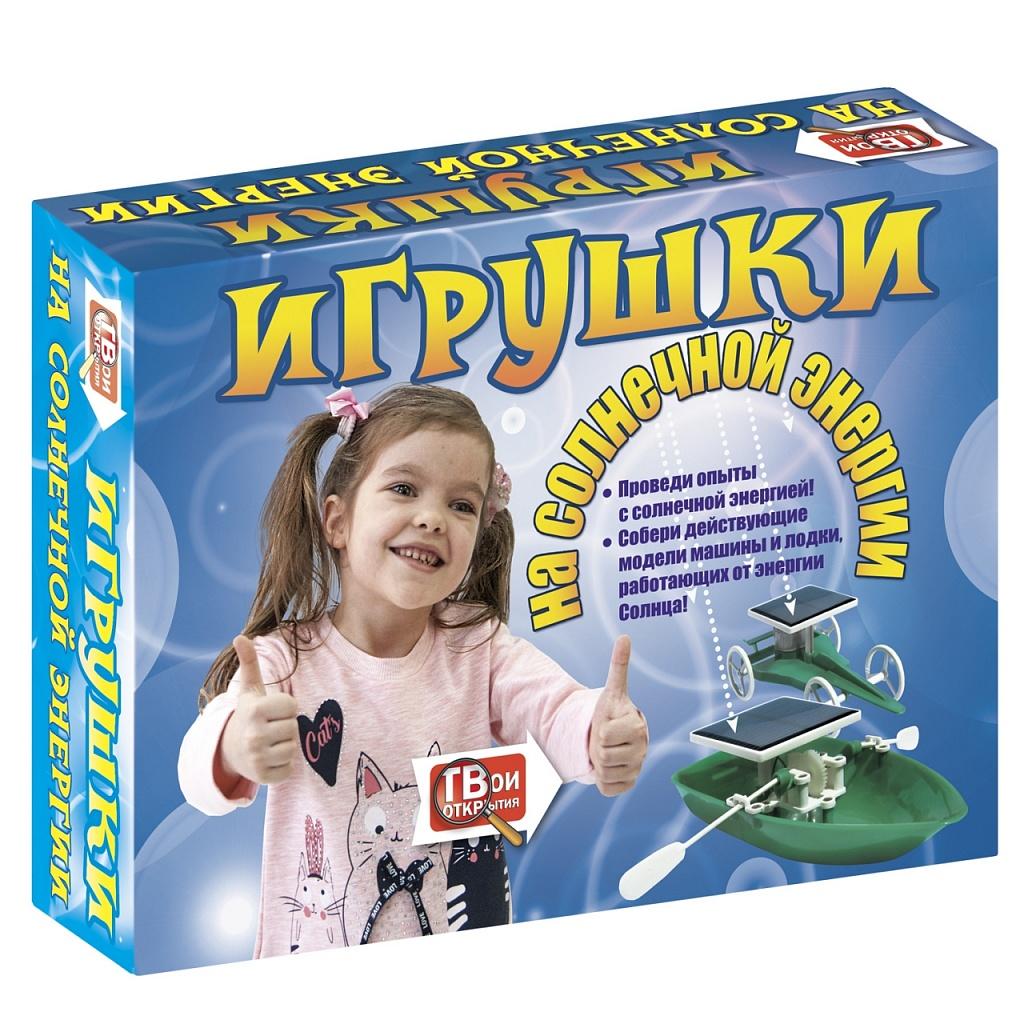 Купить Набор для опытов НОВЫЙ ФОРМАТ 80776 Игрушки на солнечной энергии, пластик, Бумага, Картон, Для мальчиков и девочек, Детские наборы для исследований