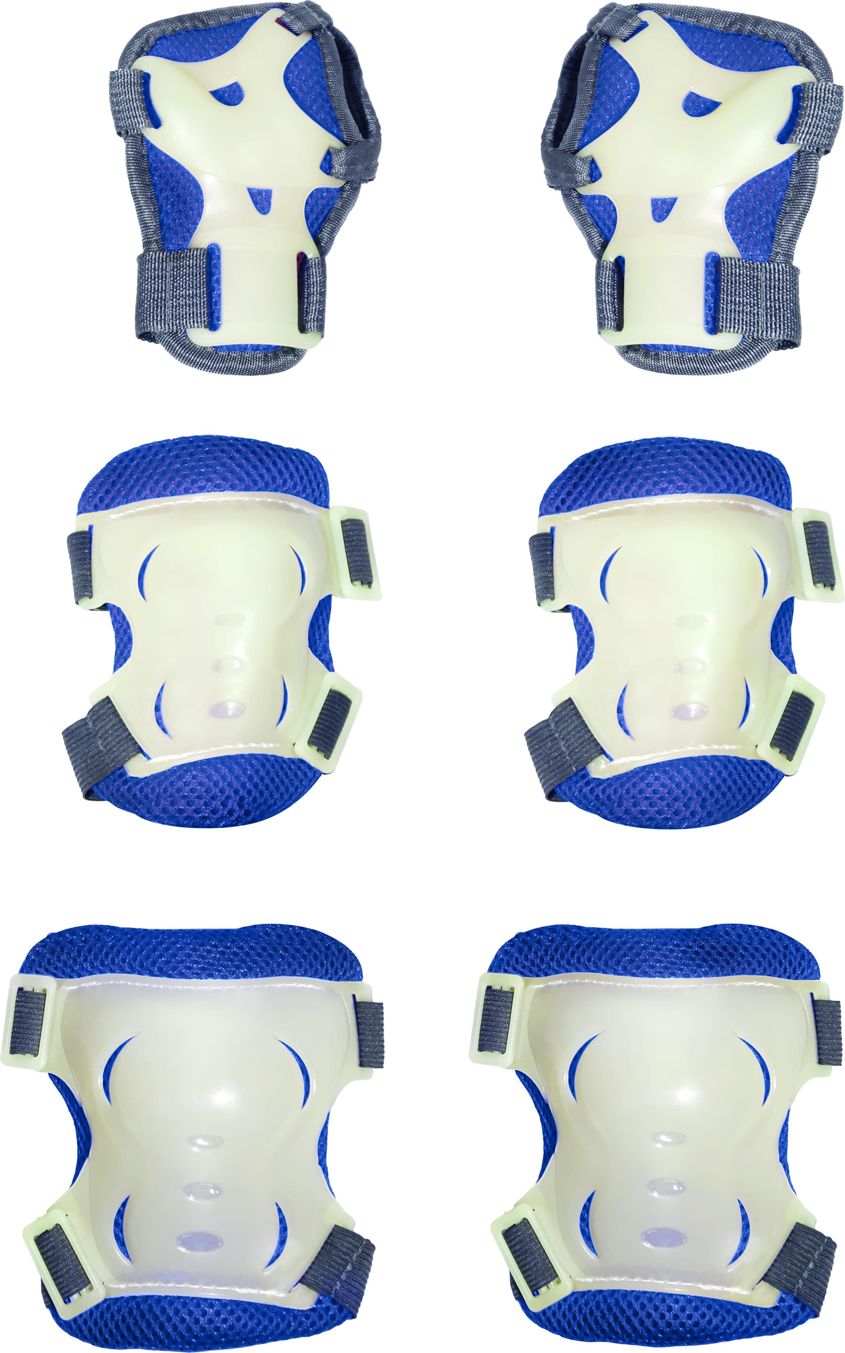 Купить Детский защитный комплект BrightKid (15805-1) синий, Синий, Китай, Спортивные игры и игрушки для улицы