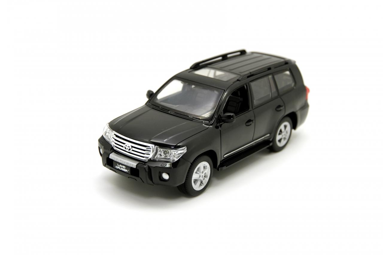 Купить Машина на ру BALBI HQ20133 Toyota land cruiser 1:24 черный, Пластик, металл, Для мальчиков и девочек, Китай, Игрушки на радиоуправлении