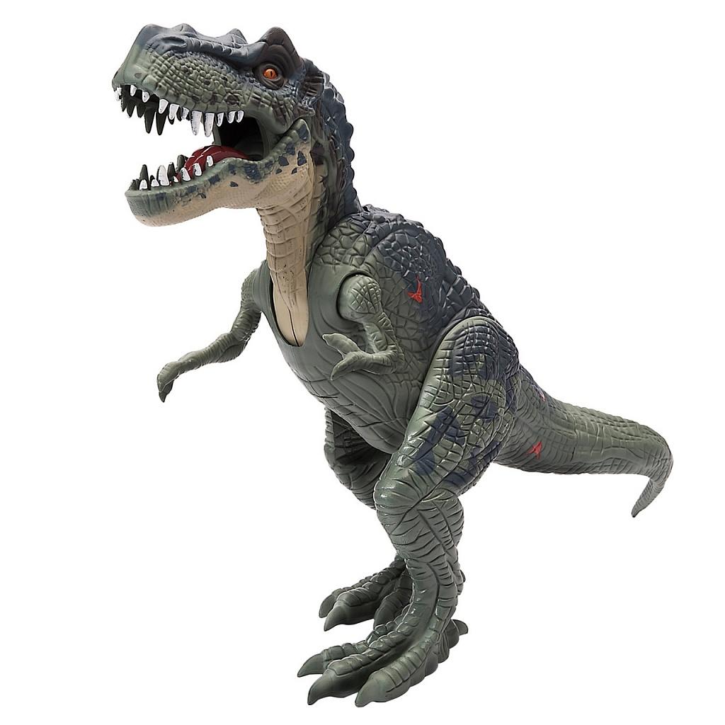 Купить Игрушка CHAP MEI 542051 Подвижная фигура Тираннозавр Рекс (свет, звук), пластик, Развивающие игрушки для малышей