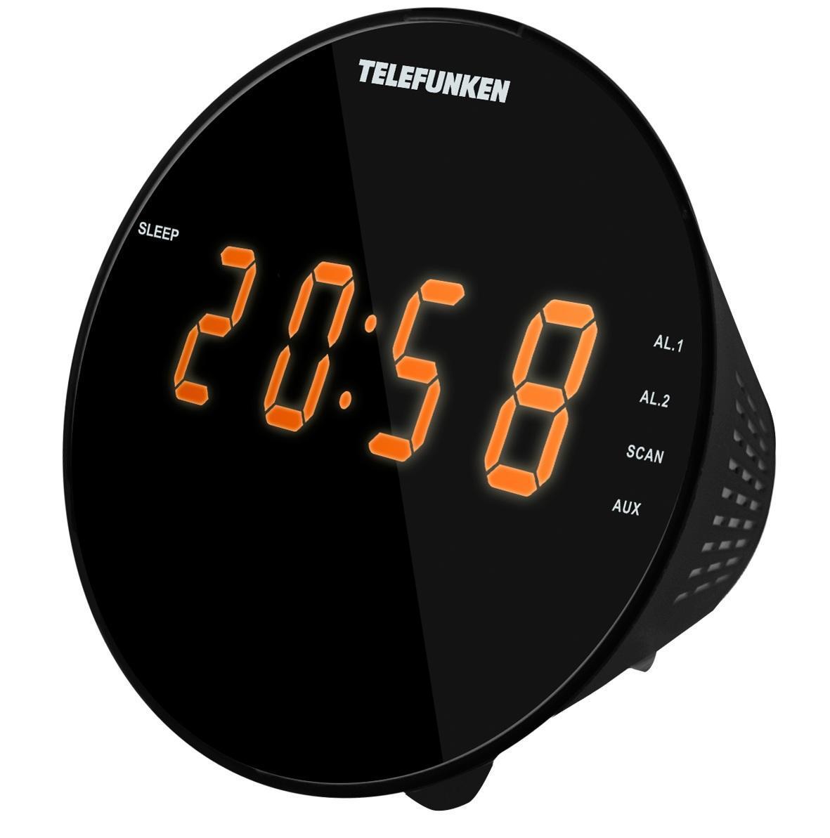 Радиоприемник TELEFUNKEN TF-1572(черный с янтарным)