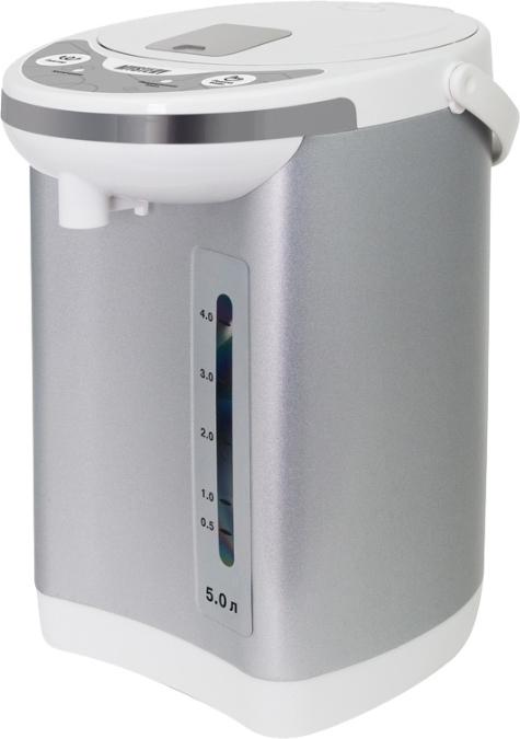 Термопот Mystery MTP 2451 белый/серебристый