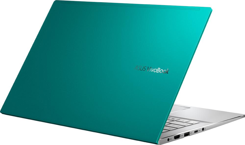 Ноутбук Asus VivoBook S14 S433FA-EB173T (90NB0Q02-M06810) зеленый