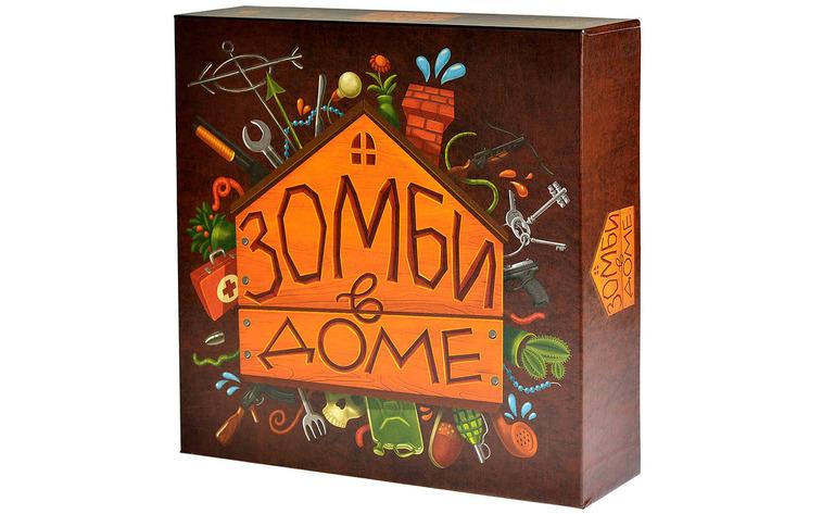 Купить Настольная игра MAGELLAN MAG03628 Зомби в доме, бумага, картон, Для мальчиков и девочек, Россия, Настольные игры