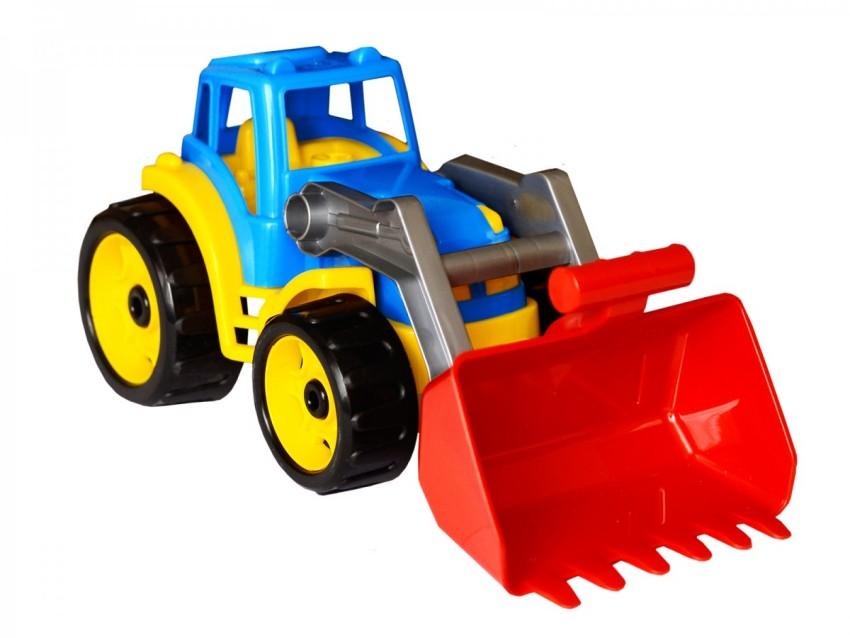 Купить МЕГА ТОЙЗ Игрушечный трактор [T1721], Мега тойз, пластик, Игрушечные машинки и техника