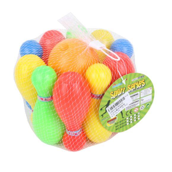 Купить НАША ИГРУШКА Набор для игры в боулинг [8201D], Наша игрушка, Разноцветный, пластик, Спортивные игры и игрушки для улицы