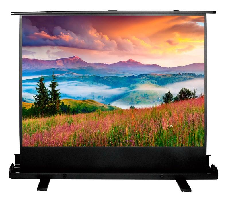 Экран напольный рулонный Cactus Floor Expert (CS-PSFLE-120X68) 16:9 68x120 см фото