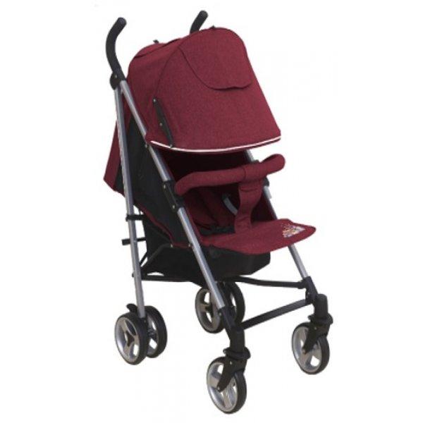 Купить ALIS Коляска-трость Alis Gamma (цвет: бордо) [УТ0010123], пластик, Металл, Текстиль, Детские коляски