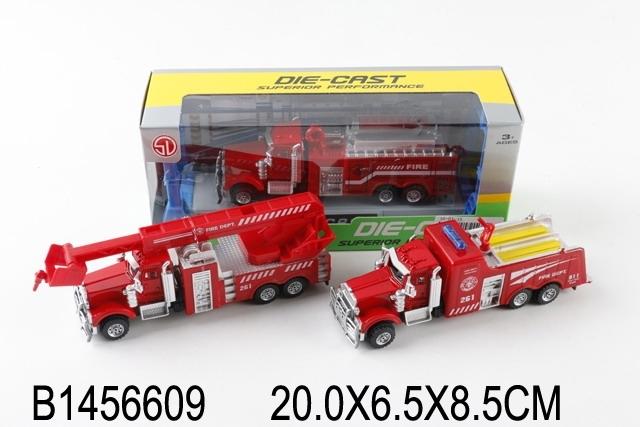 Купить SHANTOU Машина Пожарная (1:70) в ассорт., инерция, металл, в/к 20*6, 5*8, 5 см [1456609], Игрушечные машинки и техника
