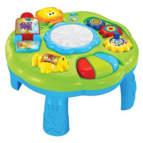 Купить ЖИРАФИКИ Игрушка развивающая Столик со светом и музыкой [939597], пластмасса, Развивающие игрушки для малышей
