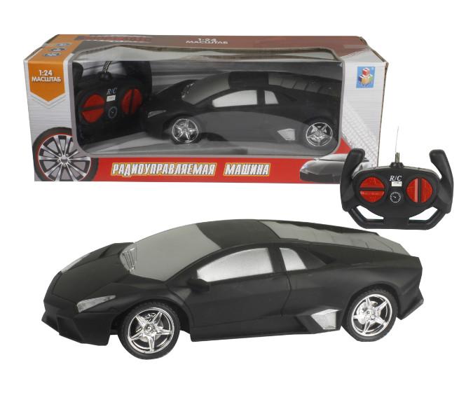 Купить 1 TOY Машина на радиоуправлении Спортавто , цвет: матовый черный, [Т13851], пластик, Металл, Игрушки на радиоуправлении