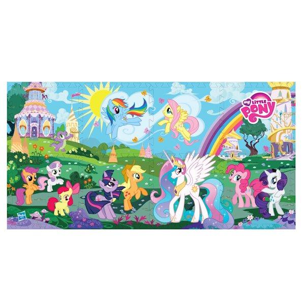 Купить ИГРАЕМ ВМЕСТЕ Коврик-пазл My Little Pony , 8 сегментов [FS-MLP], Развивающие коврики для малышей