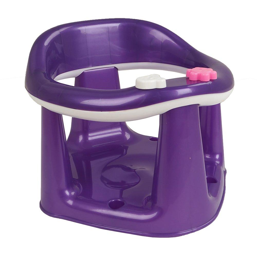 Купить 11120, DUNYA Сиденье для купания Фиолетовый, Dunya plastik, Россия, Сиденья, подставки, горки для купания малышей