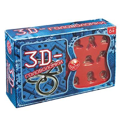 Купить Набор НОВЫЙ ФОРМАТ 10508 3d головоломки, Новый формат, Картон, бумага, металл, Для мальчиков и девочек, Россия, Головоломки