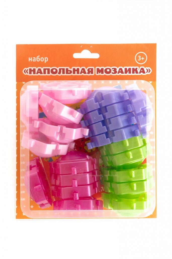 Купить Напольная мозаика ПЛАСТМАСТЕР 15030 Жемчужинка, пластик, Для мальчиков и девочек, Россия, Мозаика для детей