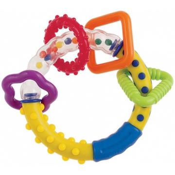 Купить CANPOL Погремушка - прорезыватель Цветные шарики [250927012], Погремушки и прорезыватели