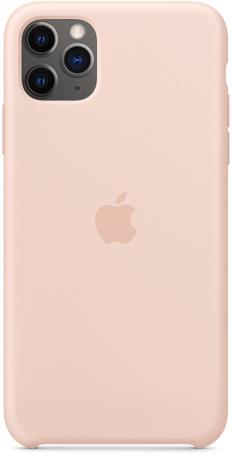Чехол Apple для iPhone 11 Pro Max Silicone, «розовый песок» фото