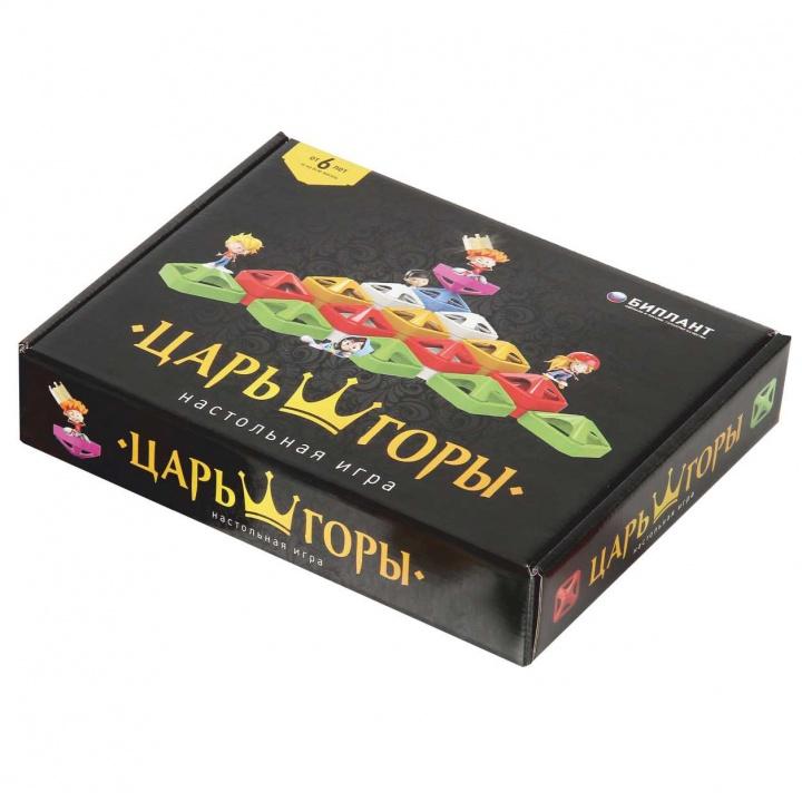 Купить Настольная игра БИПЛАНТ 10040 Царь горы, Для мальчиков и девочек, Россия, Настольные игры