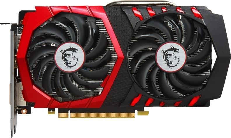 Видеокарта MSI GeForce GTX 1050 Ti 1290Mhz PCI-E 3.0 4096Mb 7008Mhz 128 bit DVI HDMI HDCP GAMING