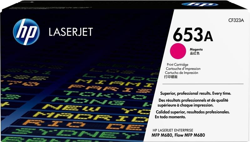 Лазерный картридж HP 653A Magenta (CF323A) фото
