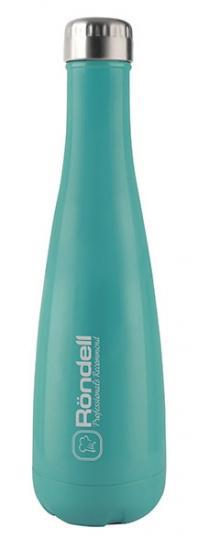 Картинка - Термобутылка Rondell Turquoise (RDS-911) 0.75 л, бирюзовая