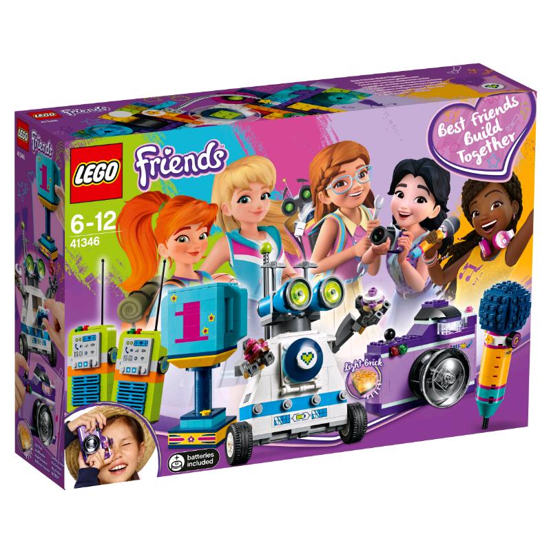 Купить Конструктор LEGO 41346 Friends Шкатулка дружбы, пластик, Для мальчиков и девочек, Дания, Конструкторы
