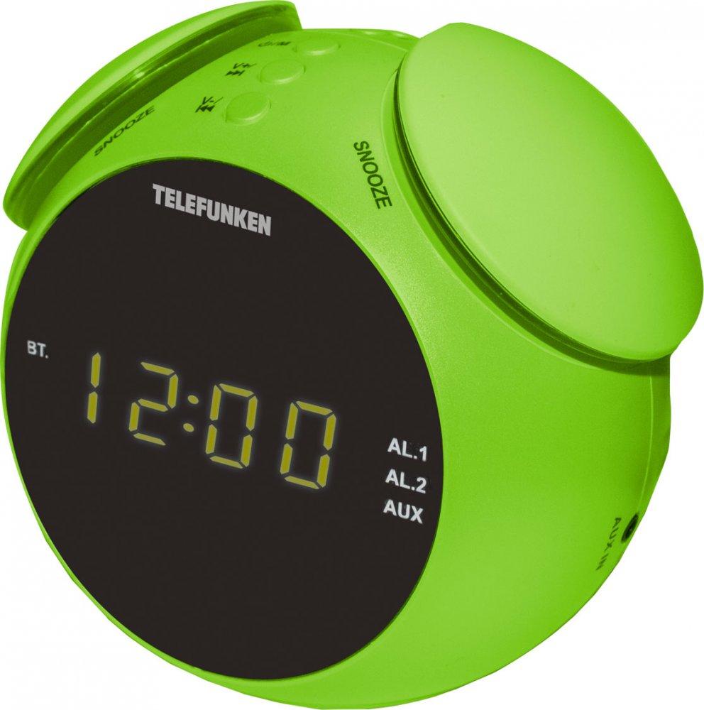 Радиоприемник TELEFUNKEN TF-1570(зеленый с янтарным)