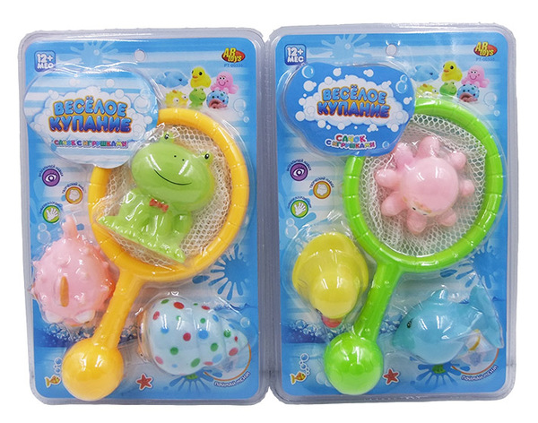 Купить ABTOYS Набор для ванны Веселое купание [PT-00535], ПВХ, Детские игрушки для ванной