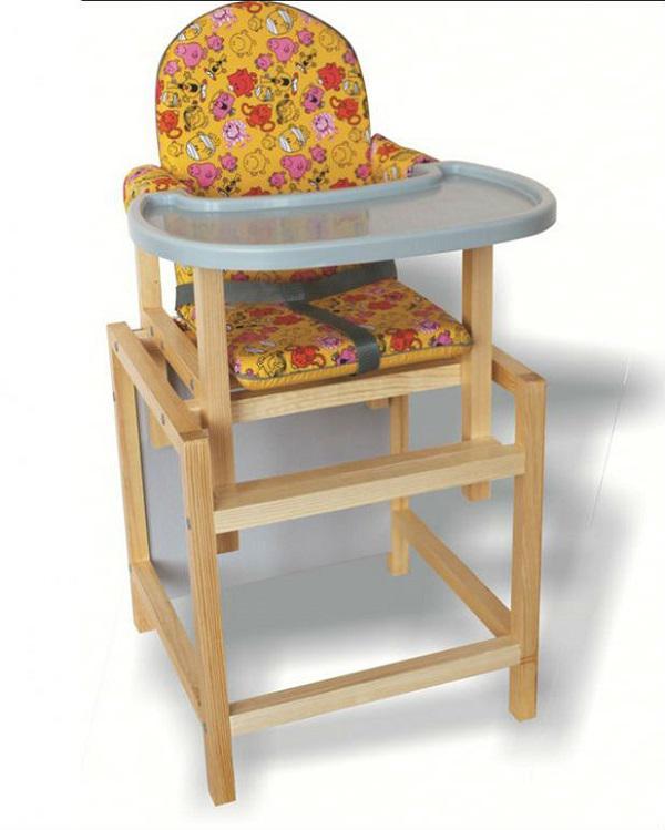 Купить 12357999, ВИЛТ Стол-стул Стд-70 желтый [СТД0704/0701], Стульчики для кормления малышей