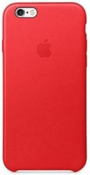 Чехол Apple для iPhone 6s Leather Case Red MKXX2ZM/A