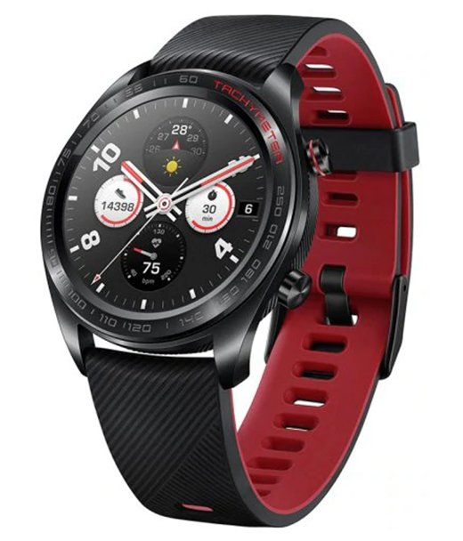 Часы Honor Watch Magic 42mm Black (With Silicone Strap)