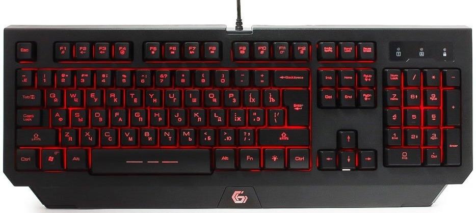 Купить Клавиатура Gembird KB-G300L Black, Черный