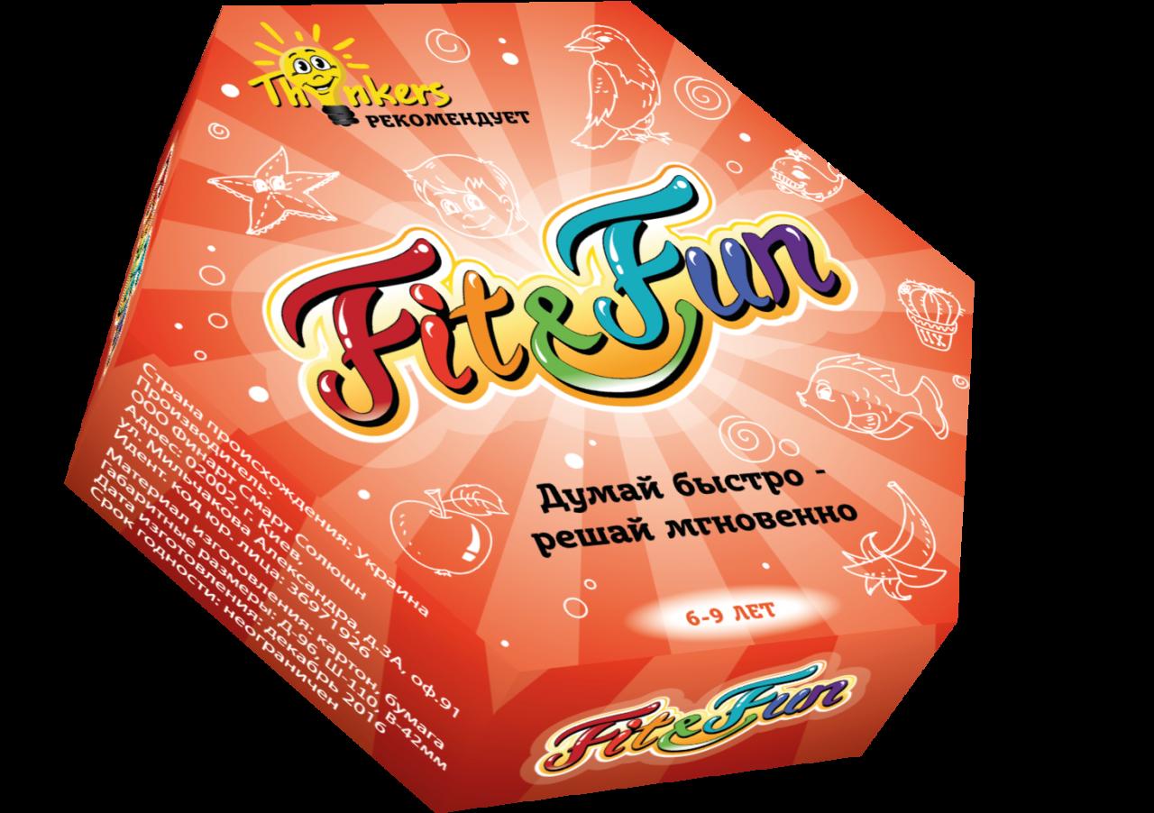 Купить Настольная игра THINKERS 20601 Fit and Fun 6-9 лет, Для мальчиков и девочек, Украина, Настольные игры