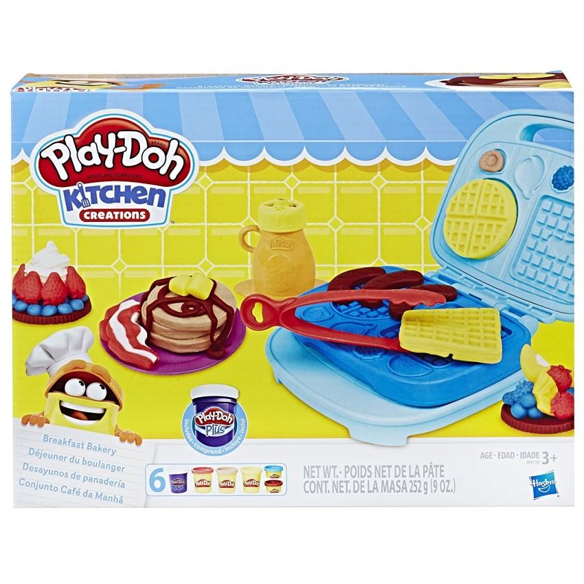 Купить B9739121, HASBRO Набор игровой PD Выпечка на завтрак [B9739EU4], Пластилин и масса для лепки