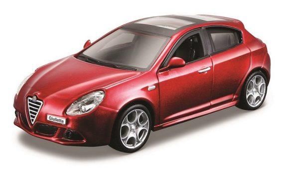 Купить BBURAGO Машинка металлическая Alfa Romeo [18-43000(3)], Металл, Игрушечные машинки и техника